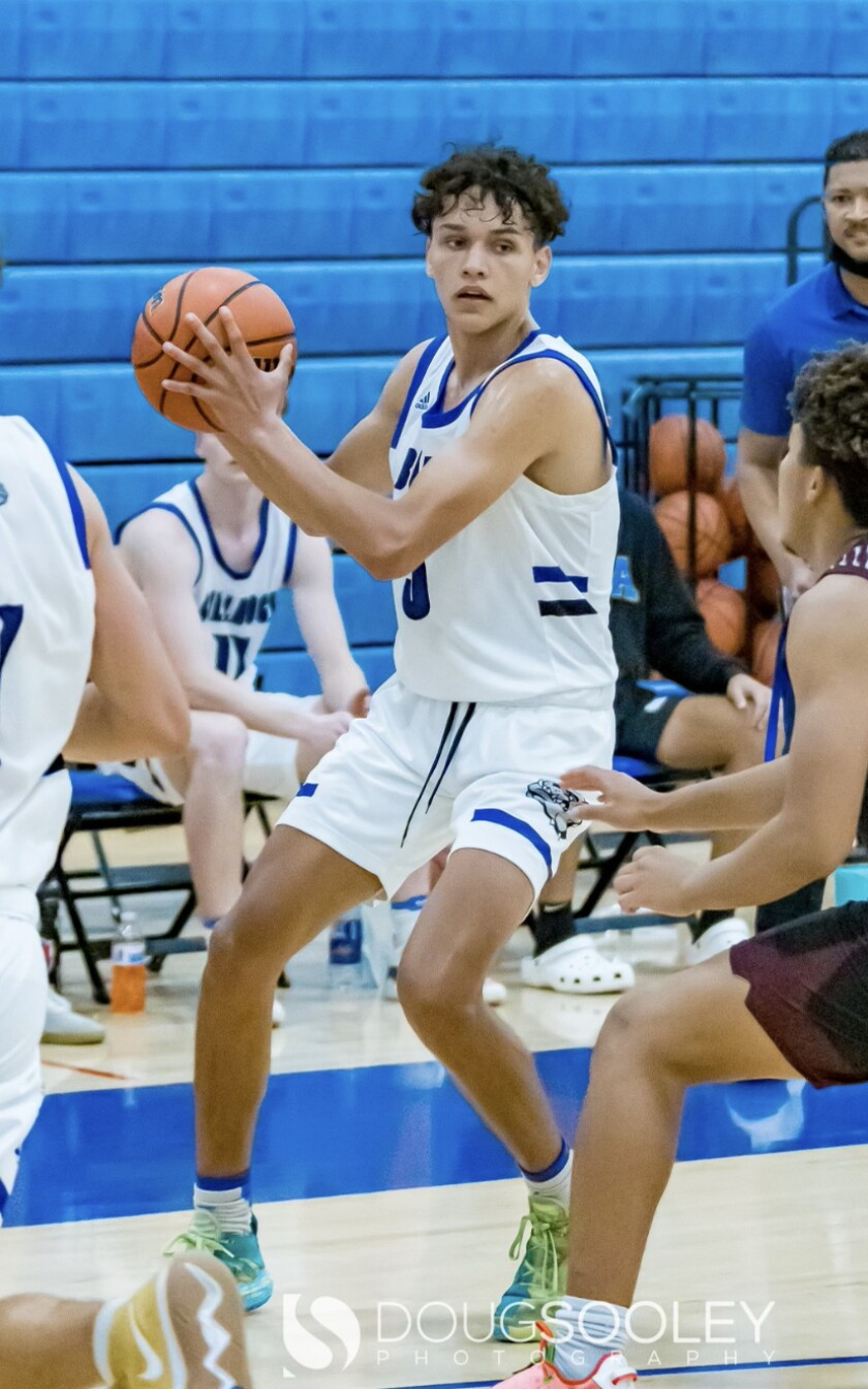 Bulldog Anthony McManus, a senior, was selected as Valley League boys basketball player of the year for 21-22 season.