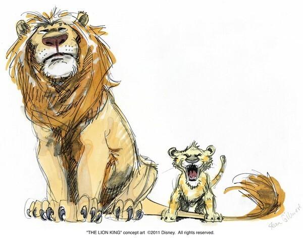 The Lion King Concept Art The San Diego Union Tribune