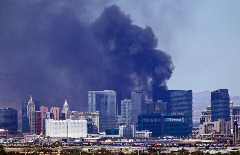 Las Vegas hotel fire
