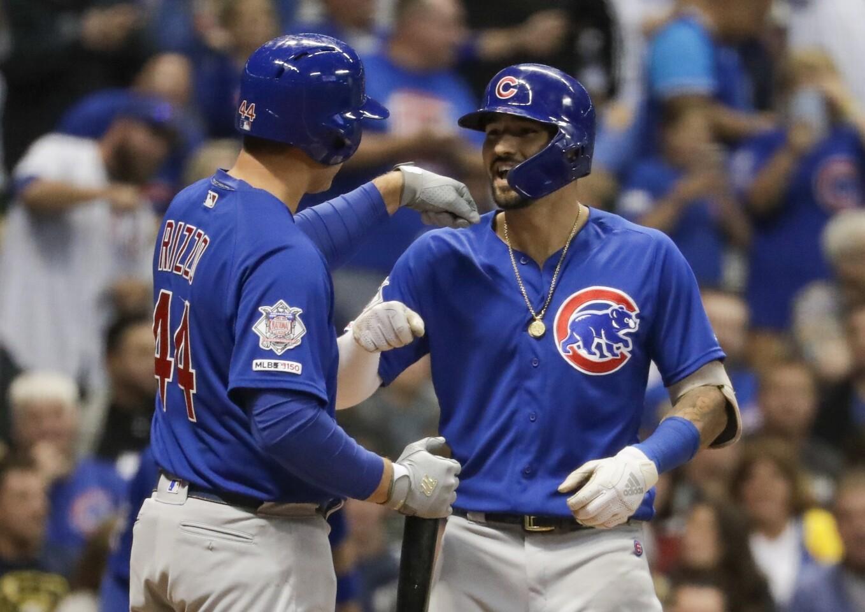 APphoto_Cubs Brewers Baseball