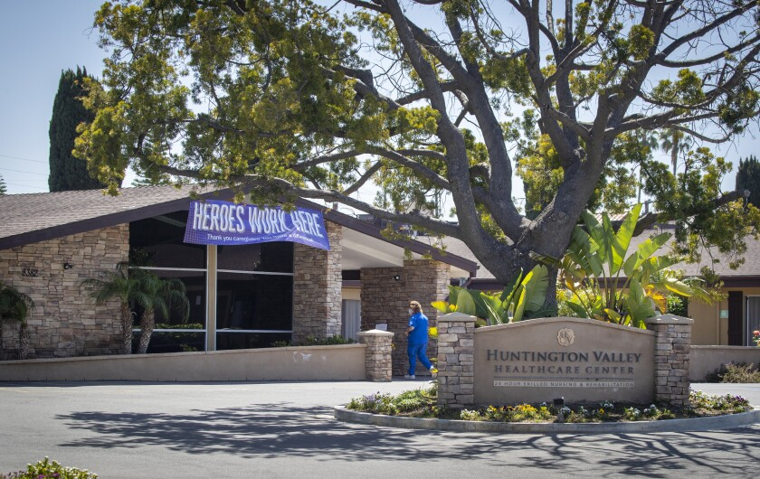 Coronavirus cases at Orange County nursing home