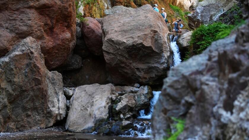 Gold Strike Hot Springs Hike Trail