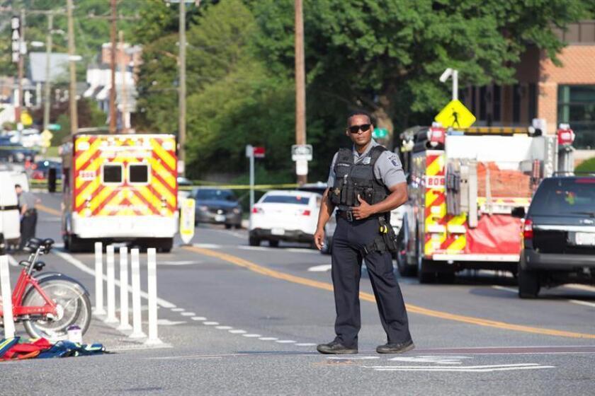 Al menos dos personas fueron asesinadas hoy en un tiroteo en un supermercado a las afueras de la ciudad de Louisville, en el estado de Kentucky, según medios locales. EFE/ARCHIVO