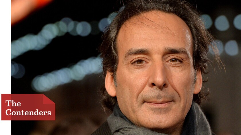 """Alexandre Desplat composes music that heroes (""""Unbroken""""), geniuses (""""The Imitation Game"""") and even monsters (""""Godzilla"""") move to."""