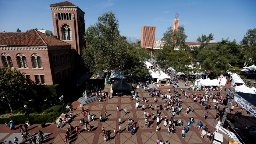 The Festival of Books at USC