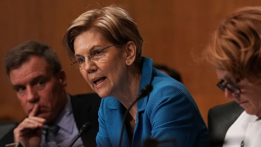 Sen. Elizabeth Warren has warned of the impact of medical expenditures on family finances and advocated expanding Social Security.