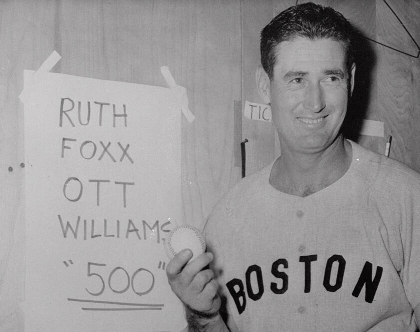 Ted Williams was the leading vote getter among Times readers.