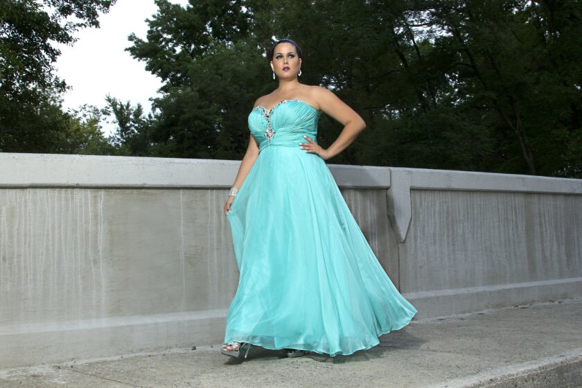 Prom dress shopping perilous for plus-size girls - The San ...
