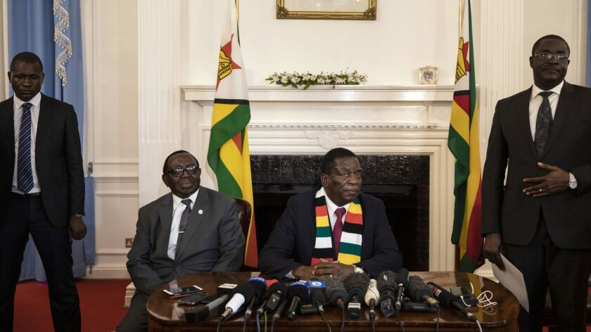 Zimbabwe Reacts After Emmerson Mnangagwa Declared Winner Of The Presidential Election