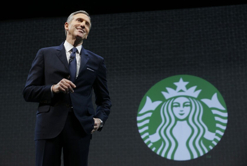 Starbucks founder and CEO Howard Schultz wants you to think his moving his bottled water supply out of California is an act of environmental stewardship.