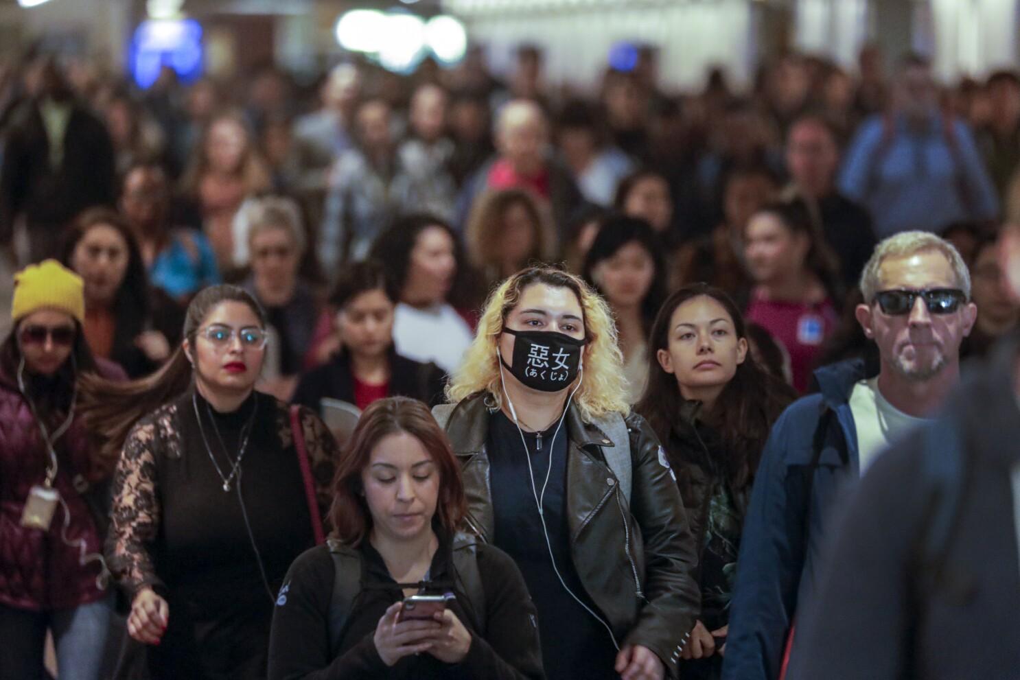 Coronavirus Memes Fill Social Media Making Young People Anxious Los Angeles Times