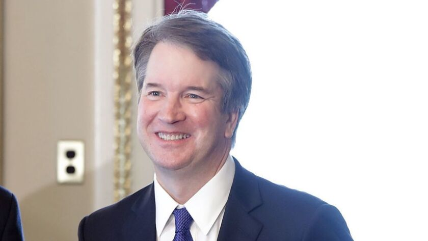 U.S. Supreme Court Nominee Brett Kavanaugh Meets With GOP Senators On Capitol Hill