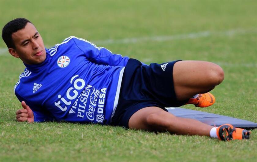 Fotografía del jugador de la selección paraguaya de fútbol, Alejandro Romero. EFE/Archivo