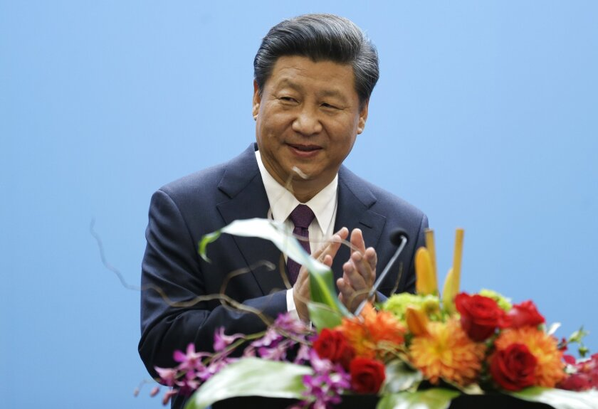 Chinese President Xi Jinping plans to announce a cap-and-trade program on Friday.