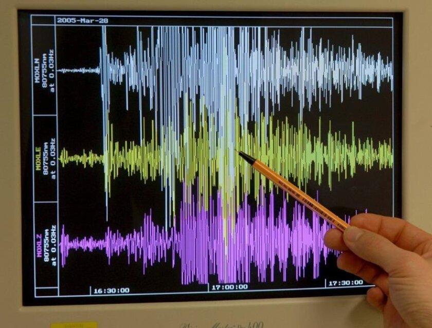 Los temblores se registraron pasada la medianoche del domingo al lunes (04.01 GMT), a unos 96 kilómetros al noroeste de San Juan, a diferentes profundidades. EFE/Archivo