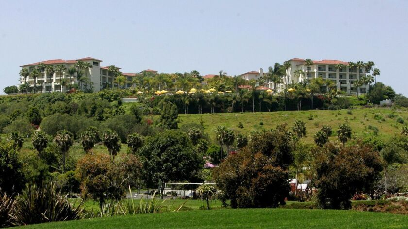 May 11, 2009, Carlsbad, California, U.S.A._View of the road leading to the Four Seasons Aviara Hotel