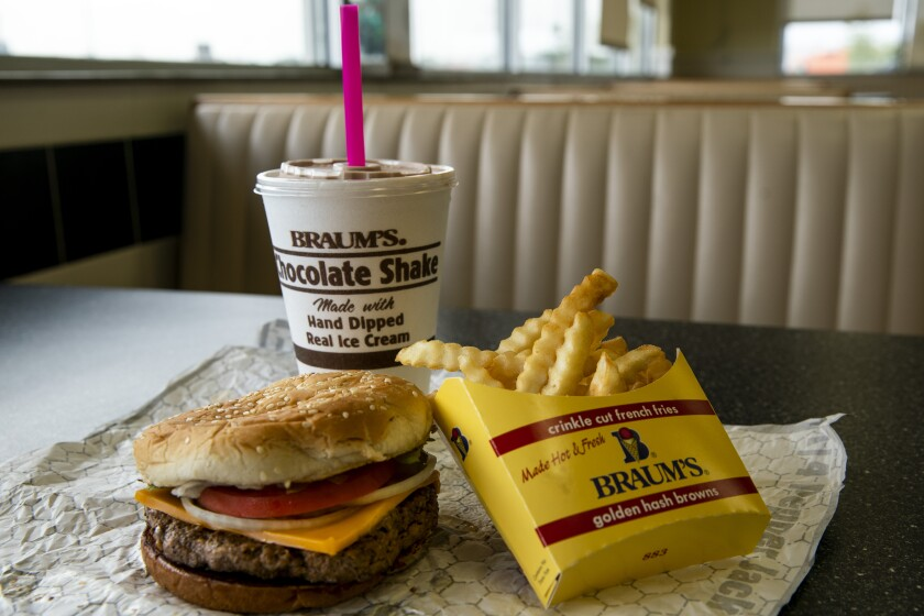 Braum's is the best burger joint. You'll wish you were here