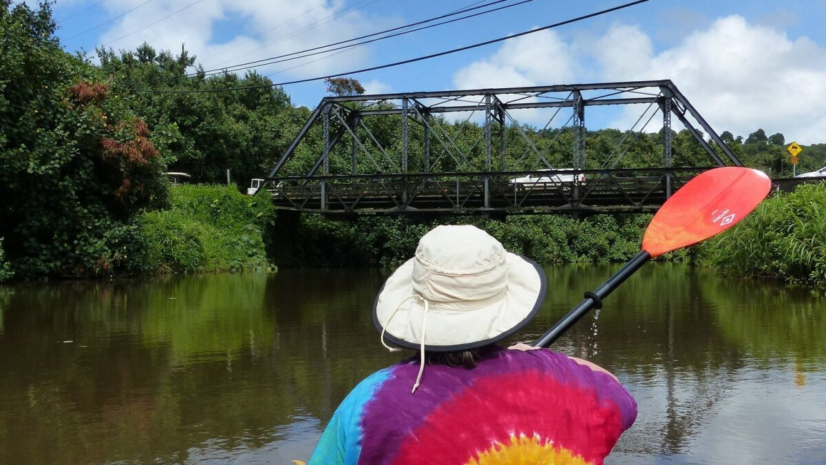 Kayaking 'up the lazy river' on Kauai - Los Angeles Times