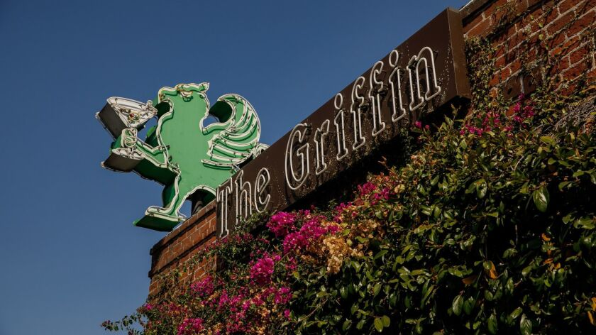 The Griffin bar in Atwater Village on July 16.