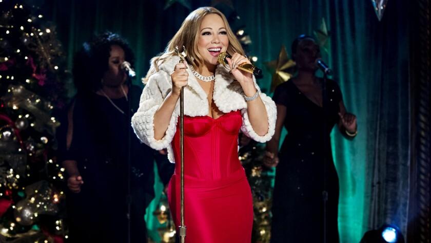 """Mariah Carey's Merriest Christmas"" on Hallmark"