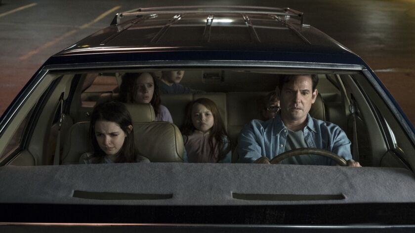 Review The Haunting Of Hill House A Long Long Strange Trip Into Spookiness Los Angeles Times