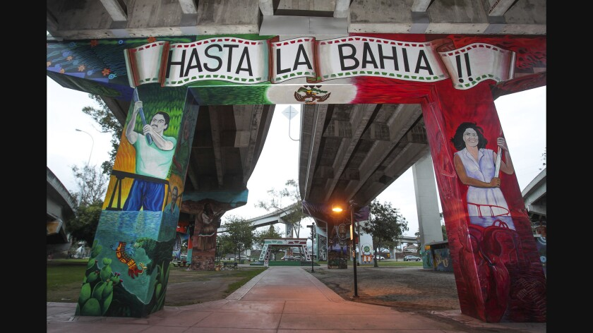 Chicano Park is one of the San Diego parks that has reopened. All visitors should continue to practice social distancing rules and wear face masks.