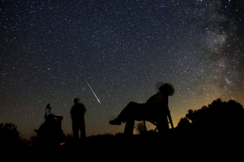 Best times to see 2019's Perseid meteor shower peak this
