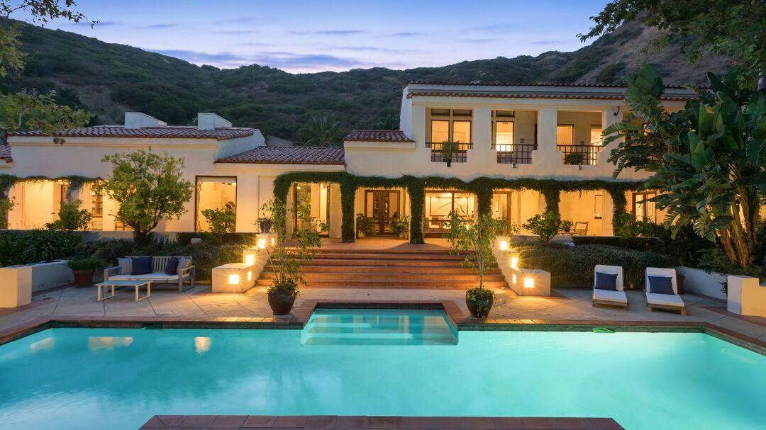 James Cameron's Malibu compound