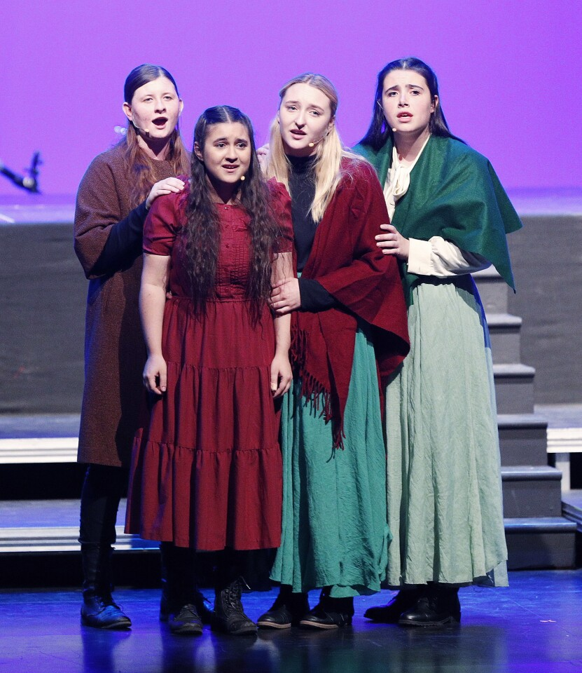 Photo Gallery: A Journey of Angels play with music about survival during the Armenian Genocide at Crescenta Valley High School