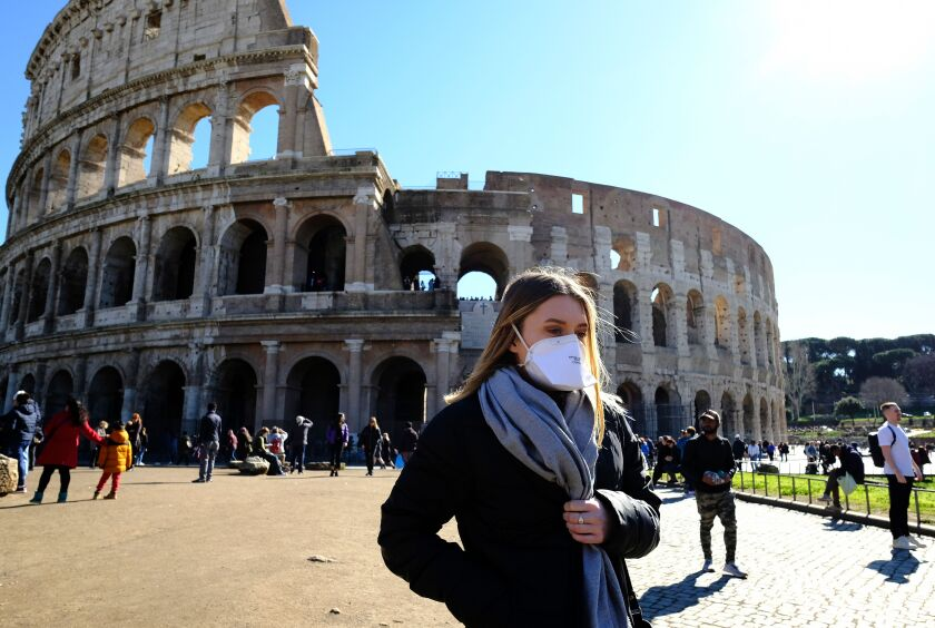 Coronavirus Turns Rome The Eternal City Into A Ghost