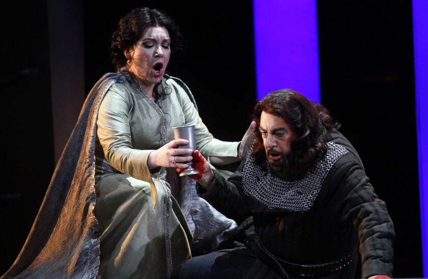"Los Angeles Opera's ""Macbeth"""