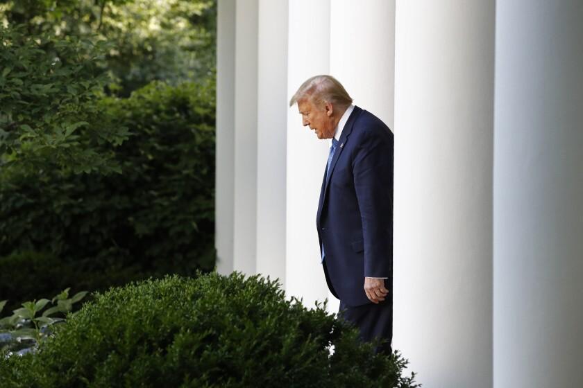 Trump at the Rose Garden