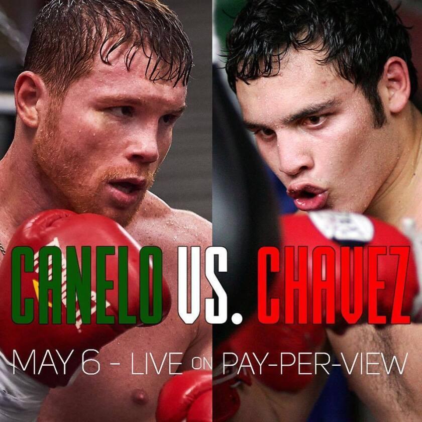 'Canelo' Álvarez hizo oficial su combate con JC Chávez Jr, con esta foto compartida en sus redes sociales.