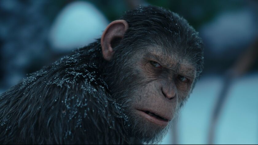 """Andy Serkis plays Caesar in """"War for the Planet of the Apes"""""""
