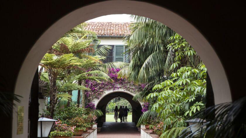 The Bilt is back: Spanish Colonial Revival architecture at the Four Seasons Resort the Biltmore Santa Barbara.