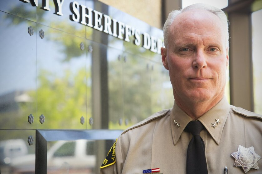 Chris Van Gorder, chief executive of Scripps Health, was recently named reserve assistant sheriff of the San Diego County Sheriff's Department.