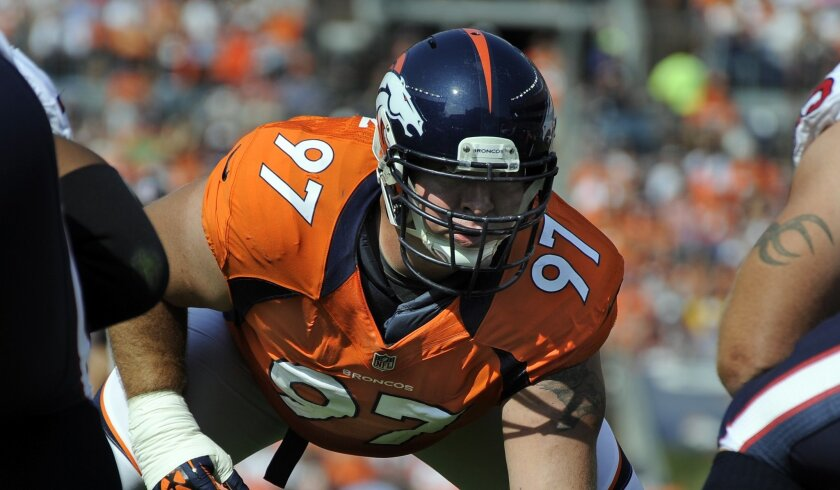 Defensive lineman Justin Bannan is a 12th-year veteran who spent two of the past three seasons with Mike McCoy in Denver.