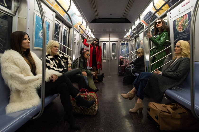 Ocean's 8 will be released in theaters June 8.