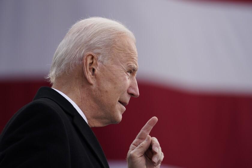 El presidente electo Joe Biden