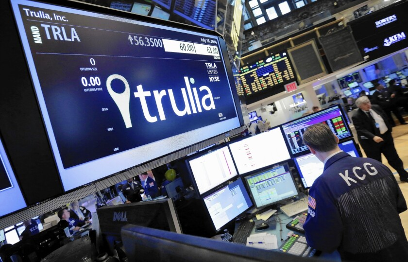 Zillow to buy Trulia