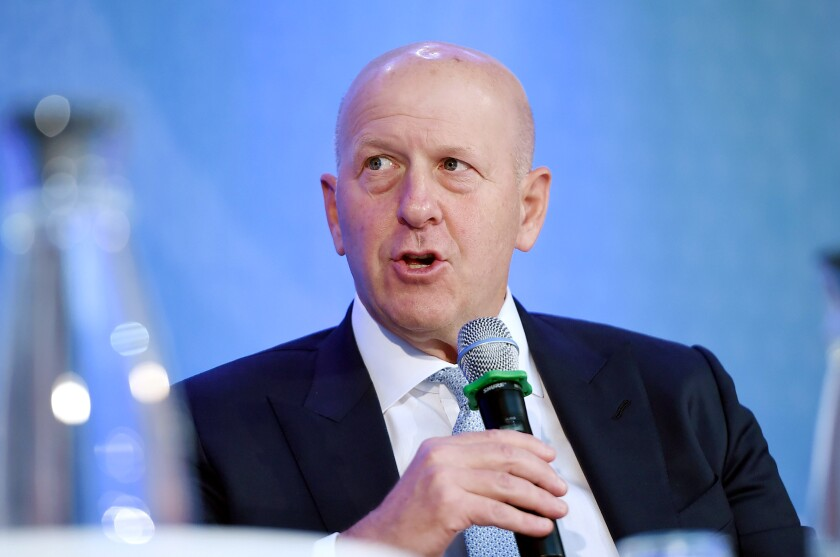 Goldman Sachs CEO David Michael Solomon