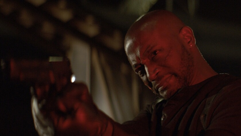 """Taye Diggs in a scene from the movie """"River Runs Red."""" Credit: Cinedigm"""