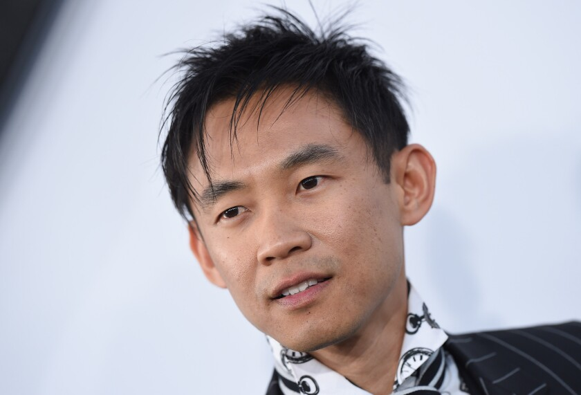 "Director James Wan, shown at the Los Angeles premiere of ""Furious 7"" last year, will direct the new ""Aquaman"" movie, set for release in 2018."