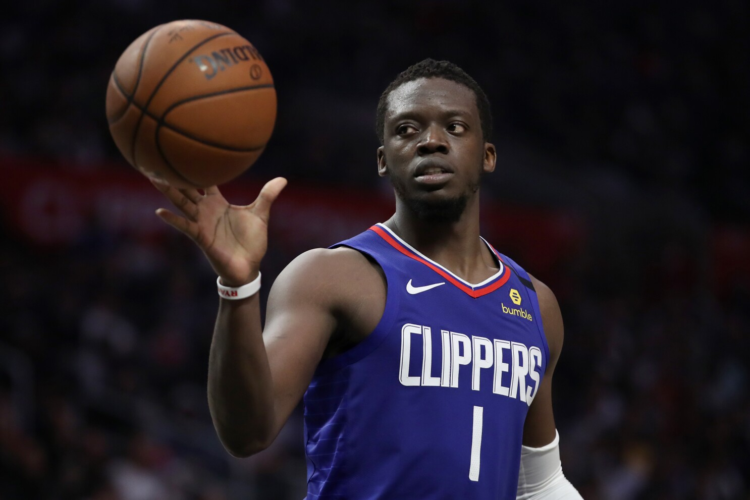 Clippers guard Reggie Jackson doesn't ...