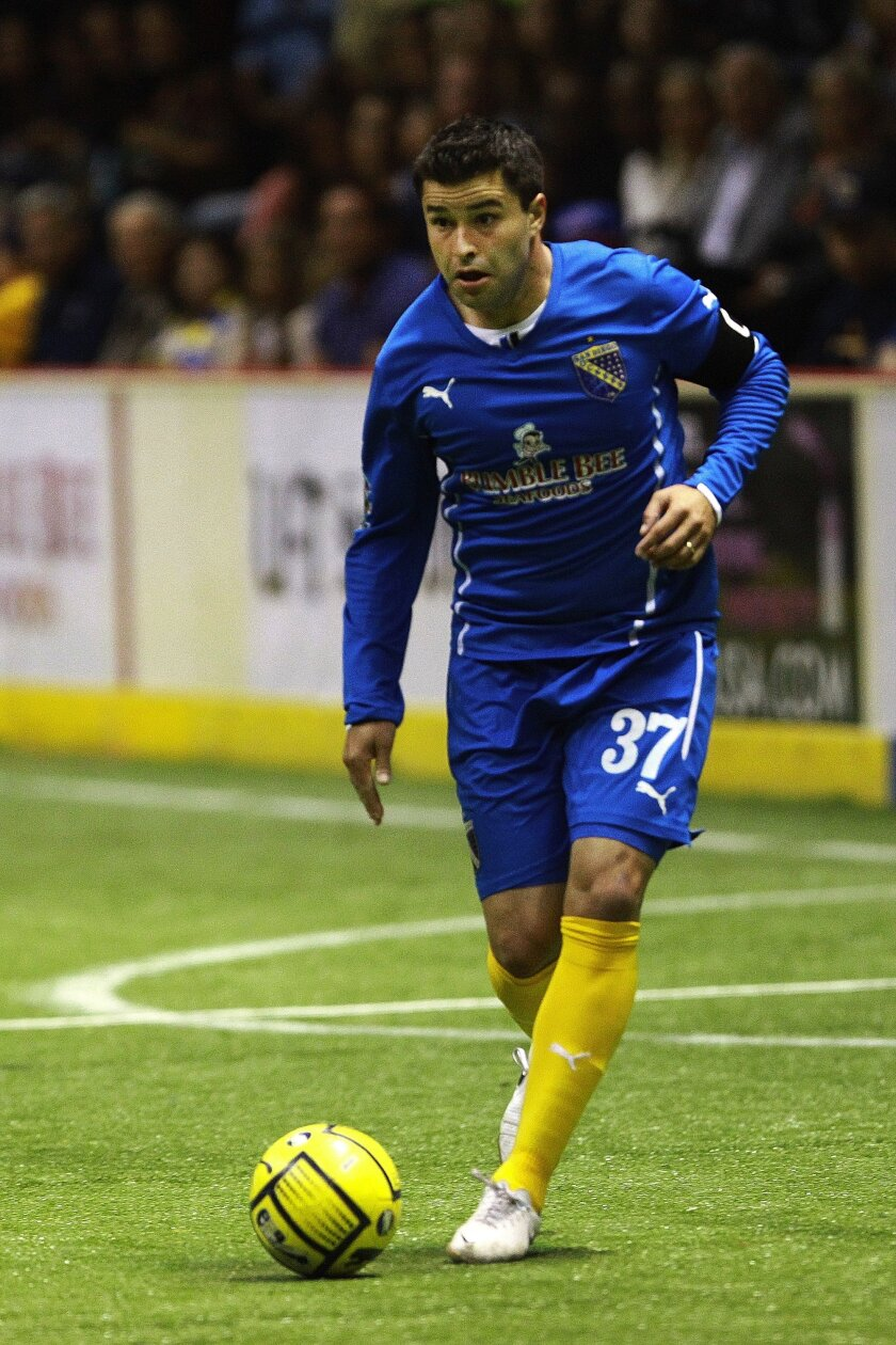 San Diego Sockers forward Kraig Chiles.