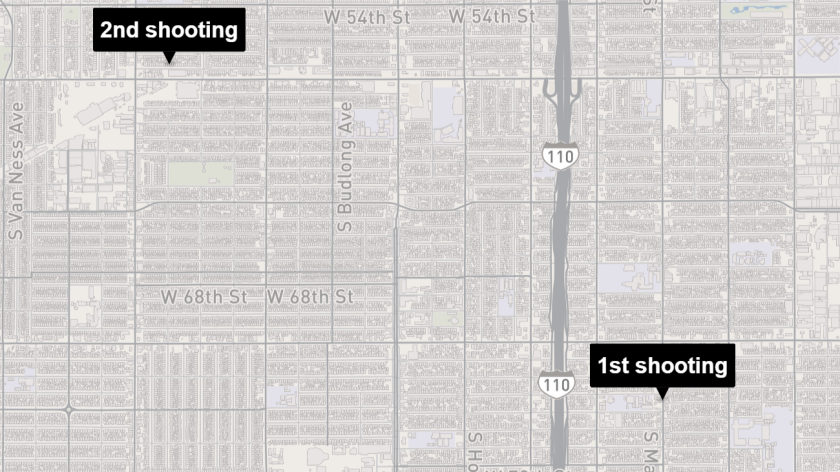 South L.A. shootings