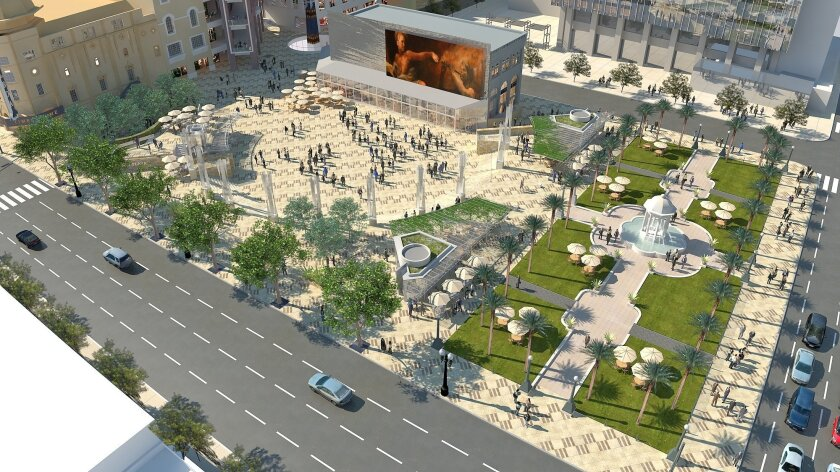Horton Plaza park expansion design selected - The San Diego