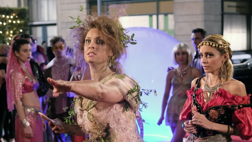 "Briga Heelan, left, and Nicole Richie in ""Great News"" on NBC."