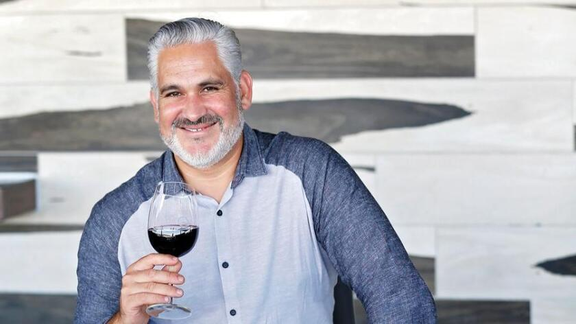 Maurice DiMarino, sommelier and beverage director of Cohn Restaurant Group. (Nancee E. Lewis)