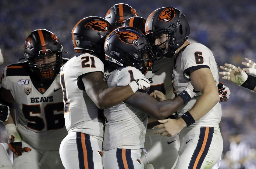 Oregon St UCLA Football